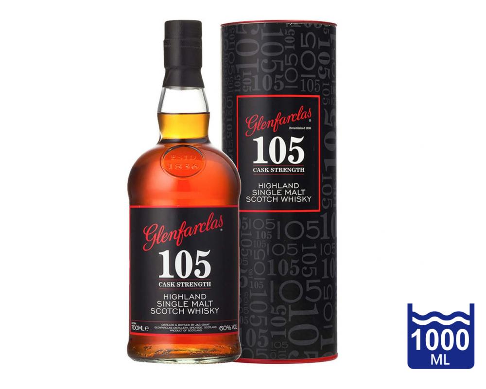 蘇格蘭 格蘭花格 105原酒單一純麥威士忌.1L