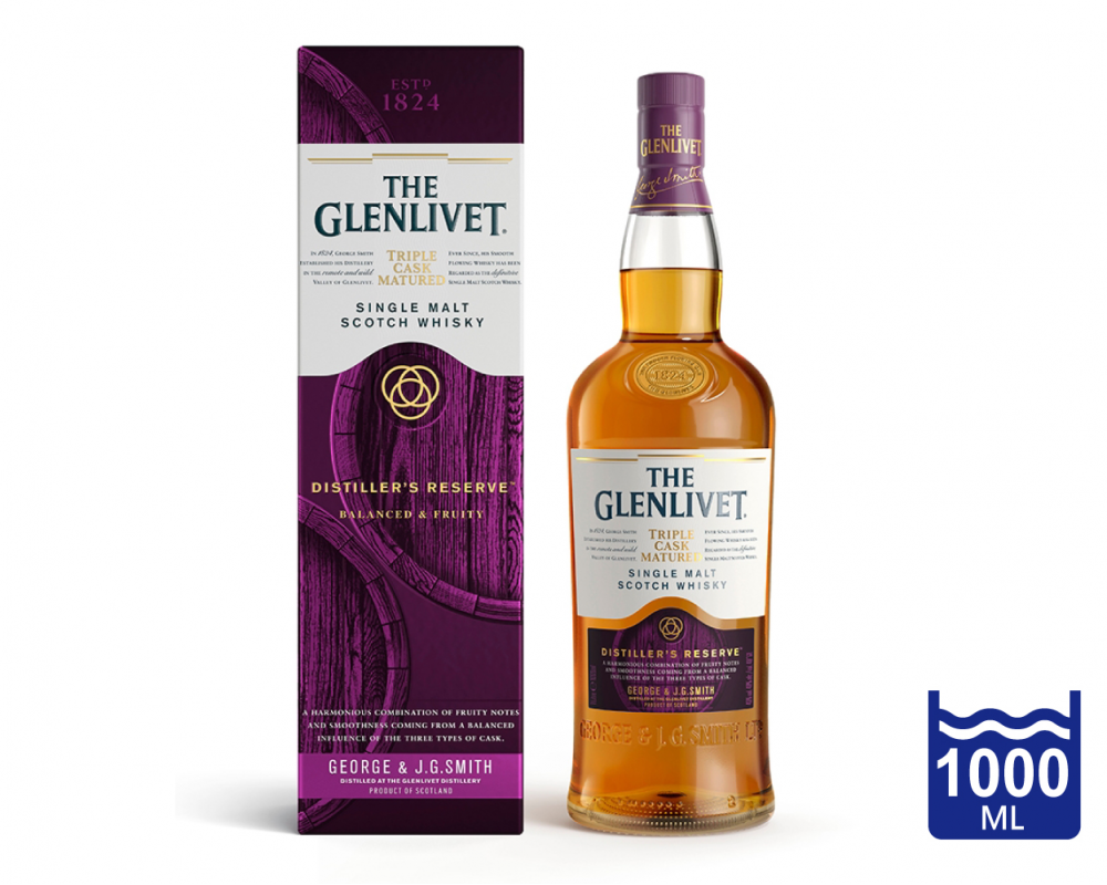 蘇格蘭 格蘭利威 三桶釀酒師珍藏單一麥芽威士忌.1L