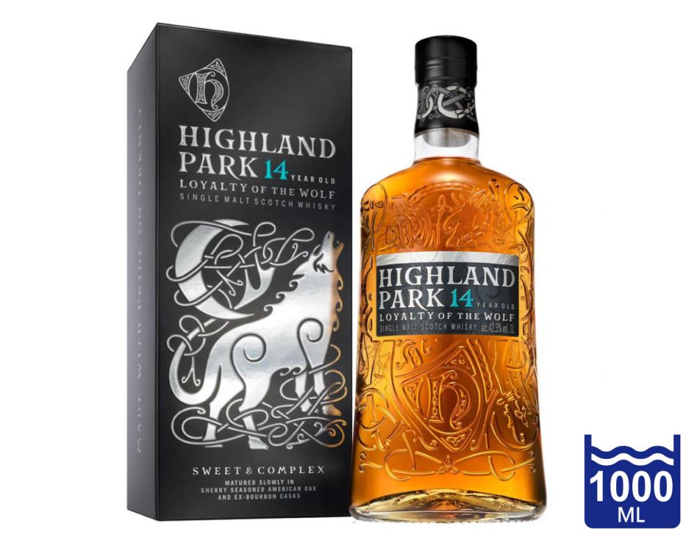 蘇格蘭 高原騎士 14年蒼狼單一麥芽威士忌.1L