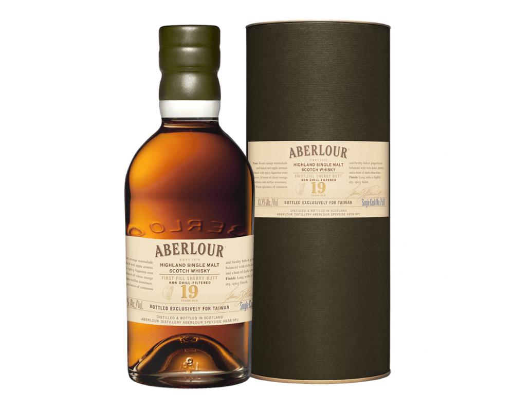 蘇格蘭 亞伯樂 單桶雪莉首次裝桶 19年單一純麥威士忌.700ml