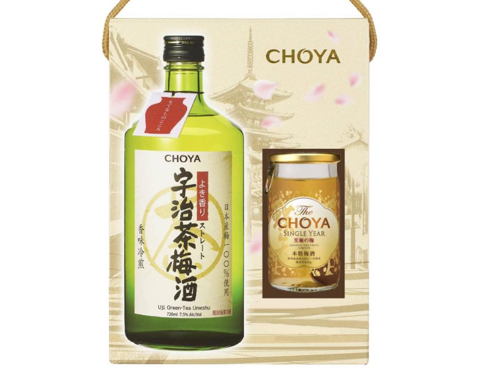 【CHOYA梅酒禮盒2021】宇治茶梅酒禮盒