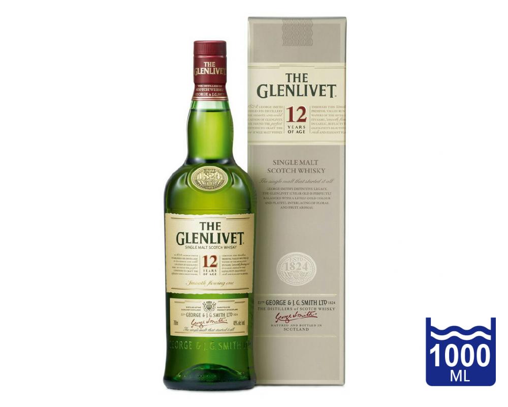 蘇格蘭 格蘭利威 12年單一純麥威士忌2013 .1L