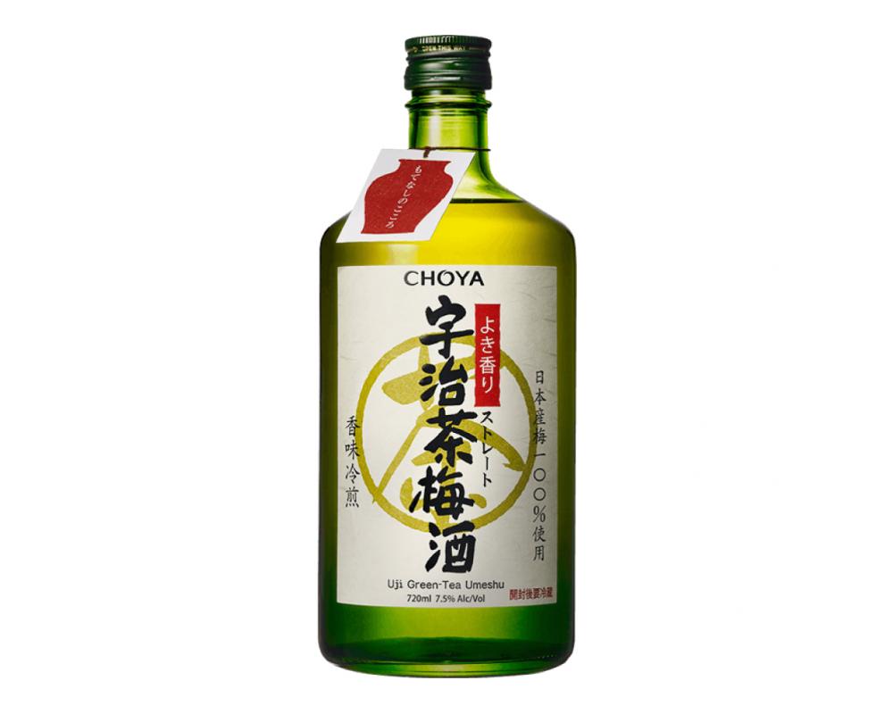 日本 CHOYA蝶矢 宇治茶梅酒.720ml