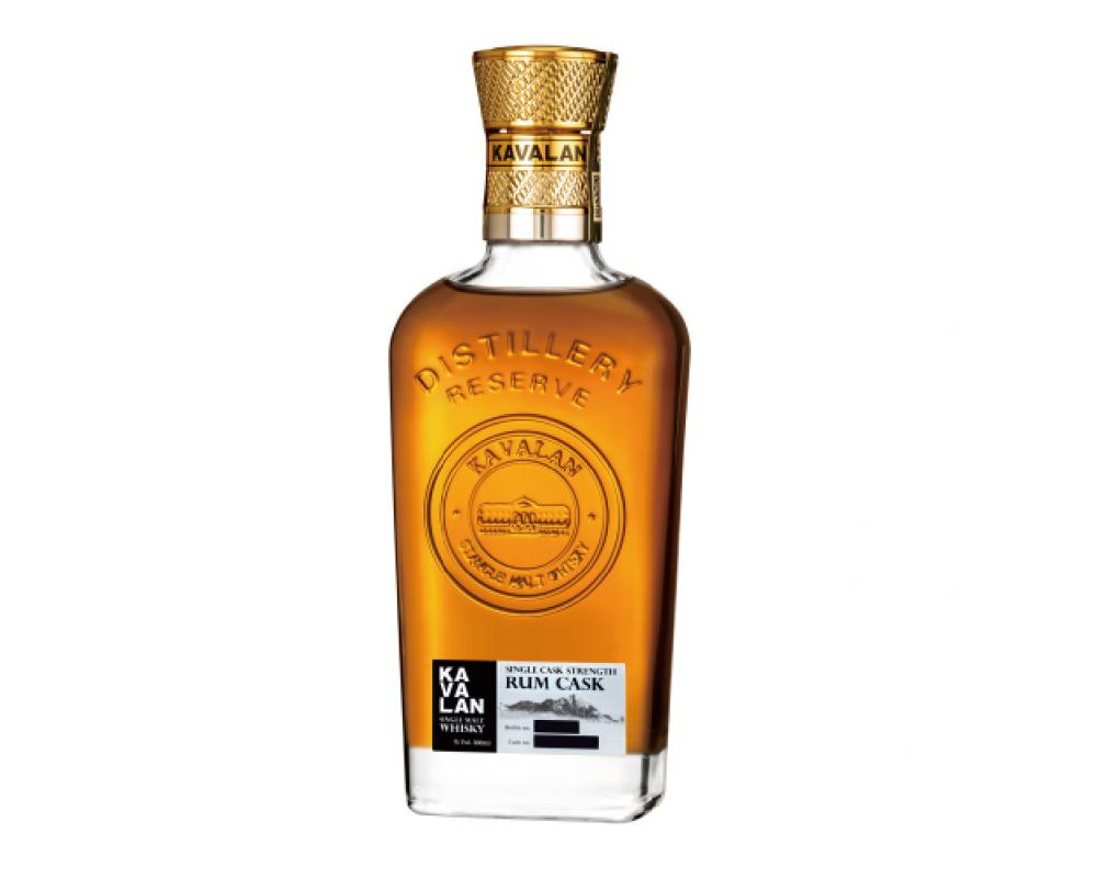 噶瑪蘭酒廠珍藏版【蘭姆桶】威士忌原酒 單一麥芽威士忌.300ml