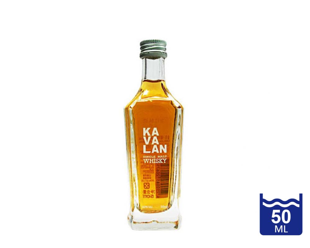 噶瑪蘭 經典單一麥芽威士忌.50ml