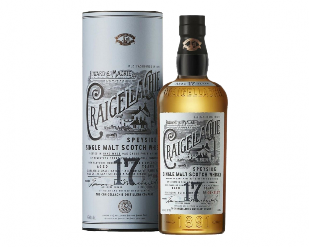 蘇格蘭 魁列奇 17年單一麥芽威士忌.700ml