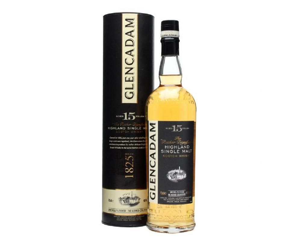 蘇格蘭 格蘭卡登 15年單一麥芽威士忌.700ml