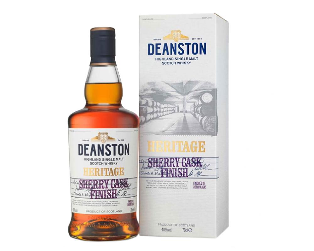 蘇格蘭 汀士頓1785傳承雪莉桶二次陳釀 單一麥芽威士忌.700ml