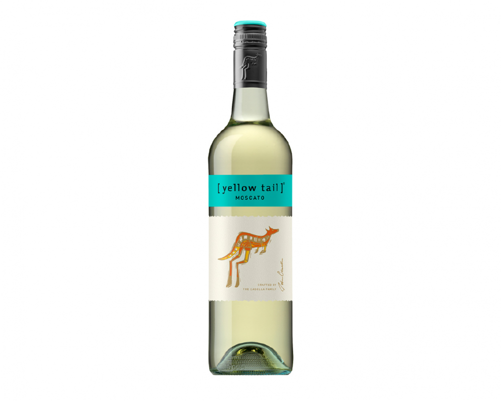 澳洲 黃尾袋鼠 慕斯卡特白葡萄酒.750ml