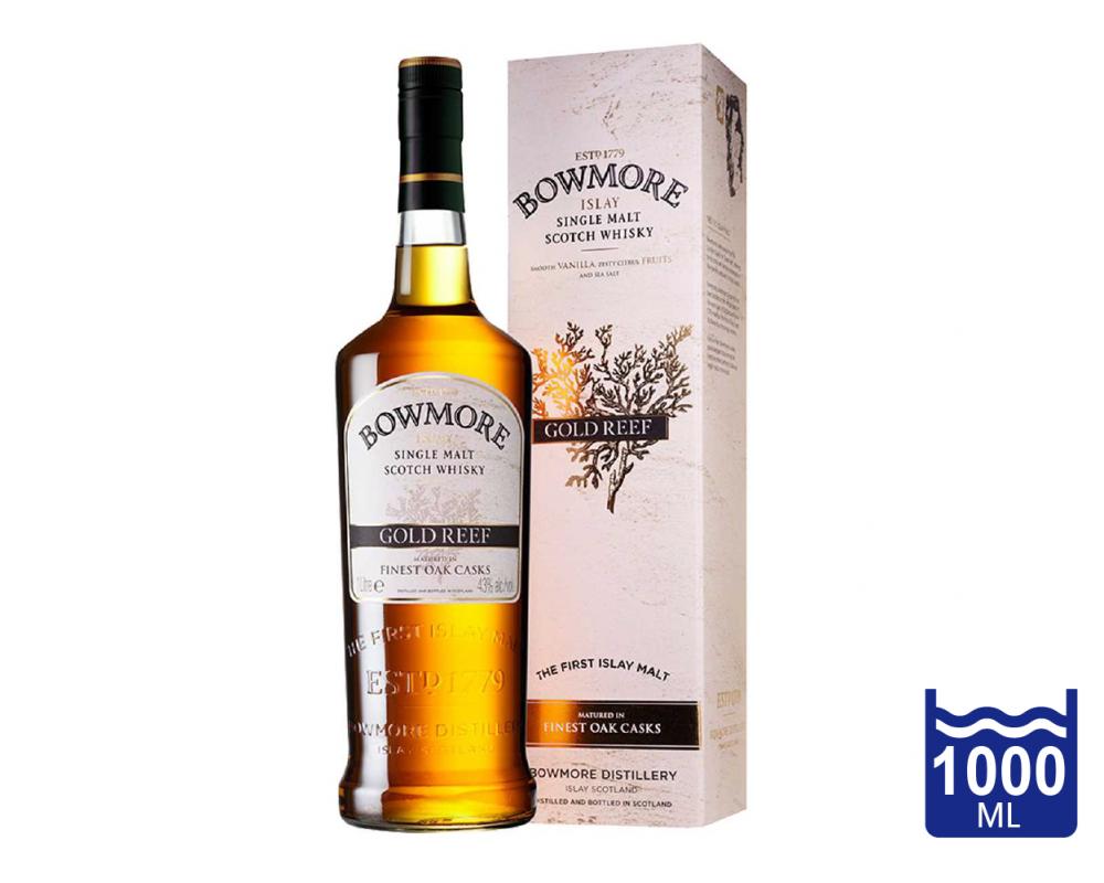 蘇格蘭 波摩 GOLD REEF單一麥芽威士忌.1L