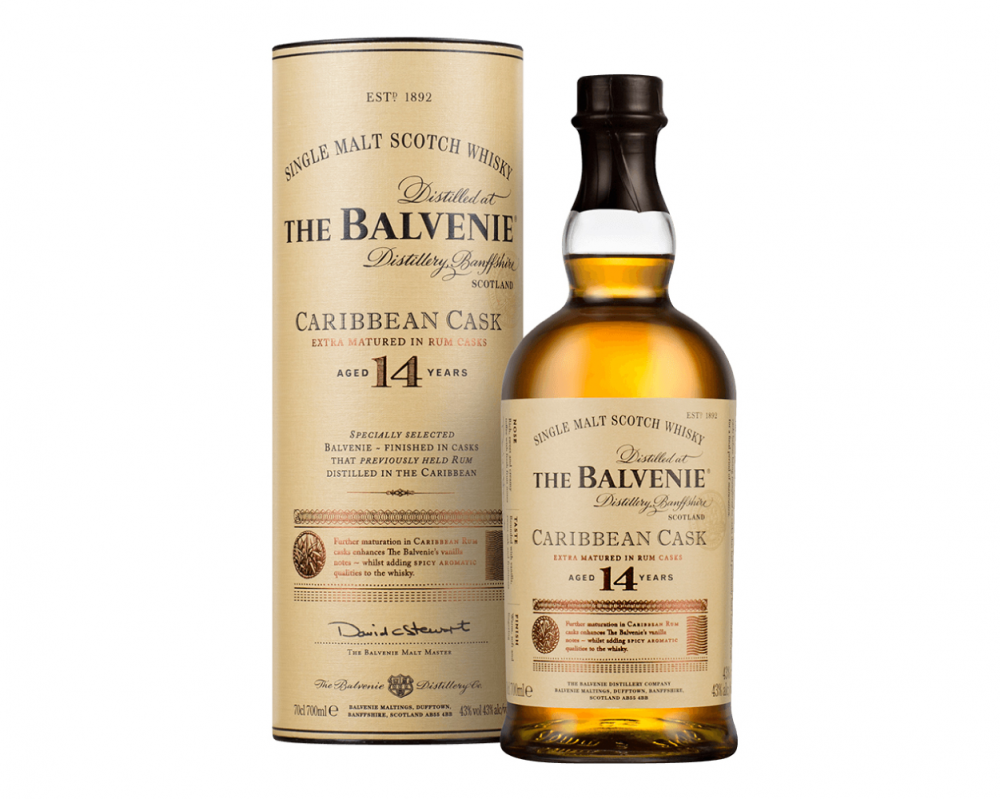 蘇格蘭 百富14年 加勒比海蘭姆桶 單一純麥威士忌.700ml