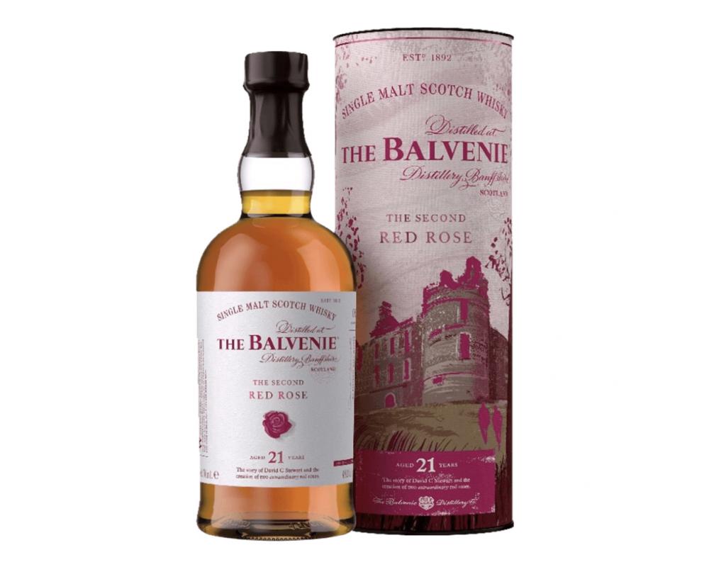 蘇格蘭 百富故事系列 21年傾城玫瑰 單一純麥威士忌.700ml