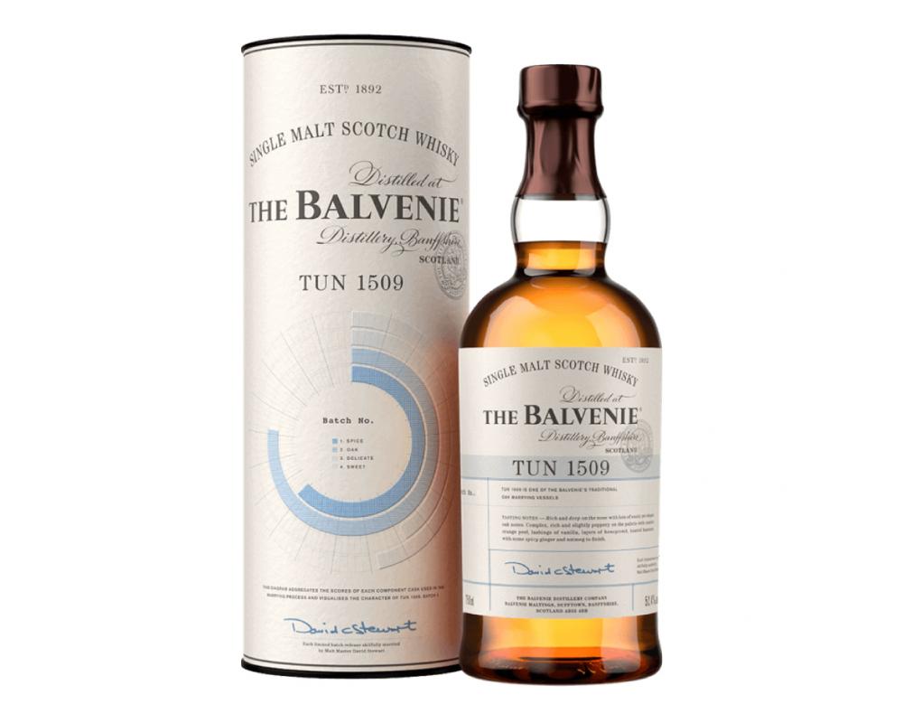 蘇格蘭 百富 TUN 1509號桶 第二批次單一純麥威士忌.700ml