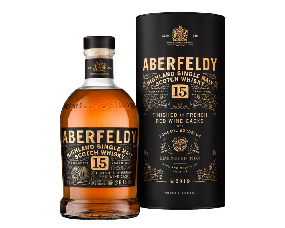 蘇格蘭 艾柏迪 15年紅酒桶 單一麥芽威士忌.700ml